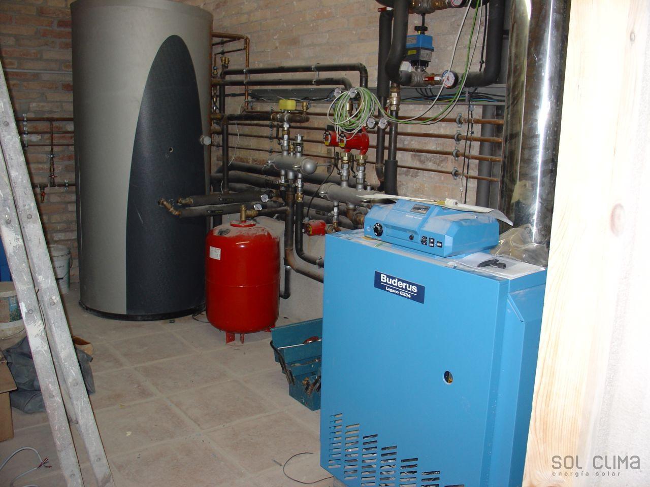High performance boiler