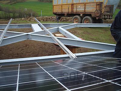 Solar Power Plant California