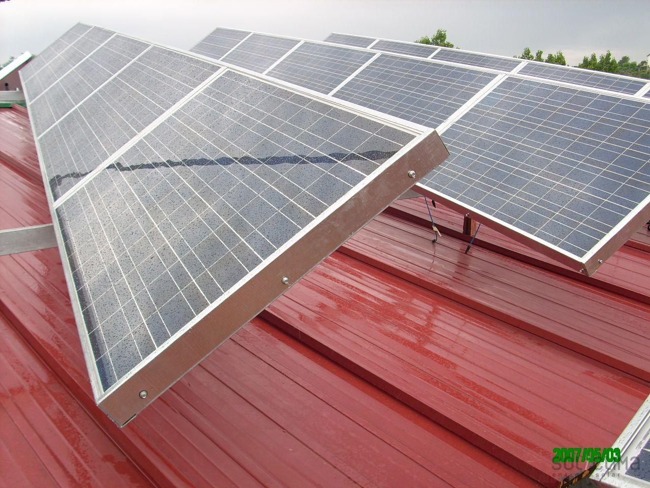 Solar Power Plant In Colorado